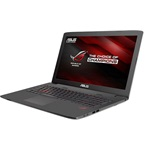 Asus ROG GL752VW-T4340D gamer notebook fekete