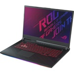 Asus ROG Strix G731GT-AU004 gaming notebook fekete