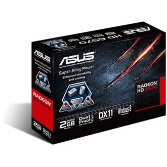 ASUS Radeon HD6570 2GB GDDR3 64bit low profile PCI-E x16