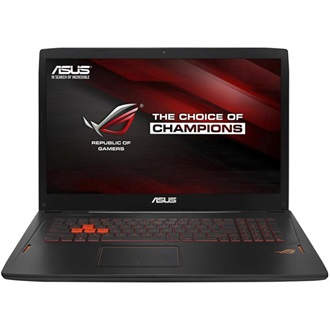 Asus STRIX GL702VT-GC026T gaming notebook fekete