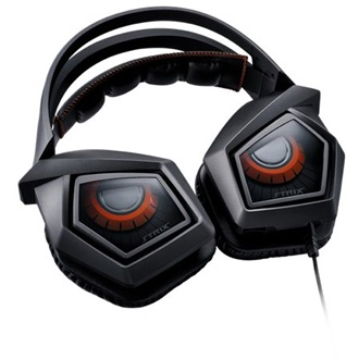 Asus Strix 2.0 gaming headset fekete