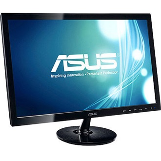 "Asus VS228DE 21.5"" TN LED monitor fekete"