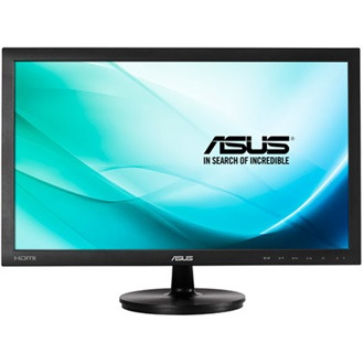 "Asus VS247HR 23.6"" TN LED monitor fekete"