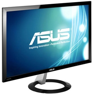 "Asus VX238H 23"" TN LED monitor fekete"