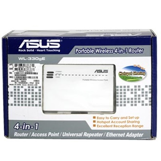 Asus WL-330GE WLAN Access Point