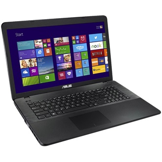 Asus X751MA-TY188D notebook fekete