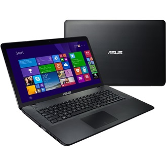 Asus X751MJ-TY010D notebook fekete