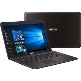 Asus X756UA-TY003D notebook barna
