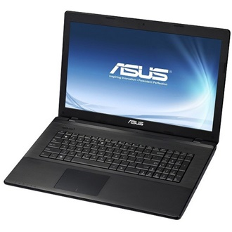 Asus X75VC-TY166H notebook fekete