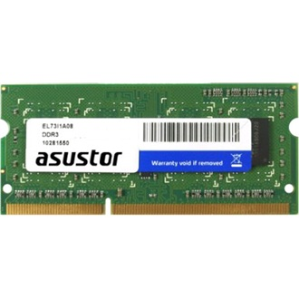 Asustor NAS 2GB Brand modul DDR3 - SODIMM memória Low-Voltage