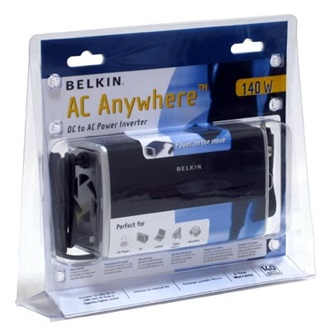 BELKIN 140W DC to AC Power inverter 140W