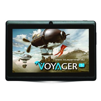 "Bluepanther 7"" Voyager S+ 8GB Wi-Fi tablet (fekete)"