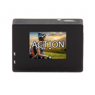Alcor Action HD sportkamera - Fekete