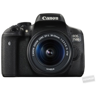 CANON EOS 750D + EF-S 18-55mm f/3.5-5.6 IS STM kit