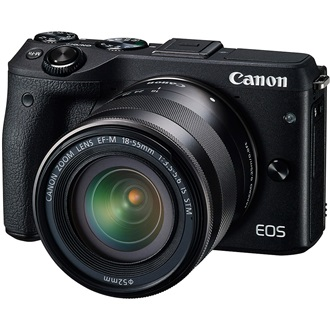 CANON EOS M3 + EF-M 18-55mm STM kit