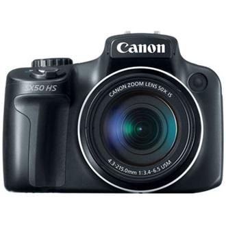 eda1b0e972f5 Canon PowerShot SX50 HS digitális bridge fényképezőgép fekete - JTC ...