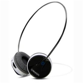Canyon CNA-BTHS02B stereo headset fekete