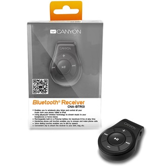 Canyon CNA-BTR01B Bluetooth receiver fekete