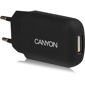 Canyon CNE-CHA11B Single USB hálózati adapter