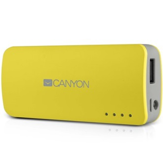 Canyon CNE-CPB44Y 5V 4400mAh powerbank