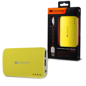 Canyon CNE-CPB78Y 5V 7800mAh PowerBank