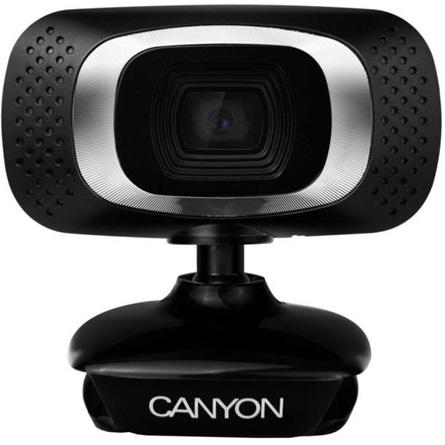 Canyon CNE-CWC3 2MP webkamera fekete-ezüst