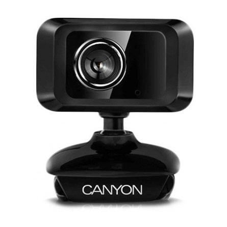 Canyon CNE-CWC1 1,3MP webkamera fekete