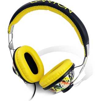 Canyon CNL-HP03E stereo headset sárga-graffiti