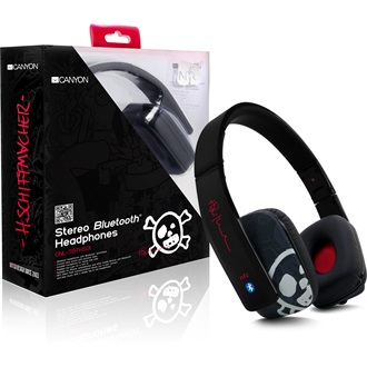 Canyon CNL-TBTHS01 stereo headset fekete-tattoo