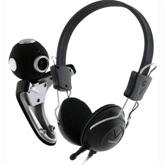 Canyon CNR-CP7G 1,3MP webkamera + headset fekete