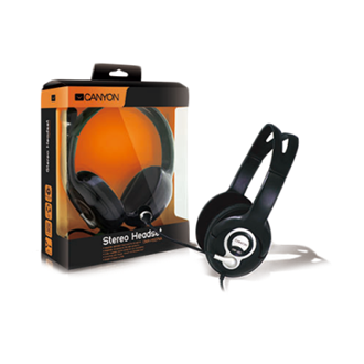 Canyon CNR-HS07NA stereo headset fekete