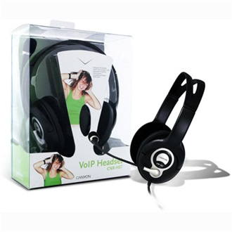 CANYON CNR-HS07N stereo headset fekete