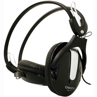 Canyon CNR-HS09N stereo headset fekete