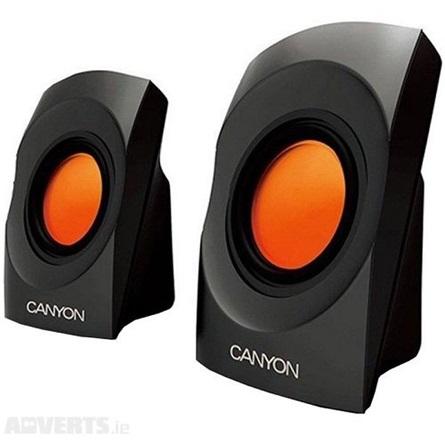 Canyon CNR-SP20JB stereo 2.0 hangszóró fekete-narancssárga