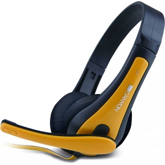 Canyon CNS-CHSC1BY stereo headset fekete-sárga