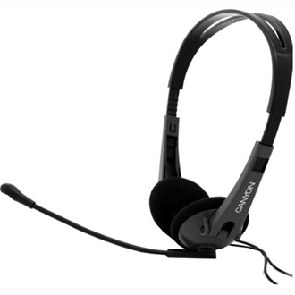 Canyon Green Series HS02 headset (fekete)
