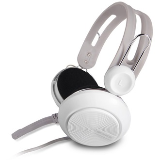 Canyon simple USB headset, inline remote, white