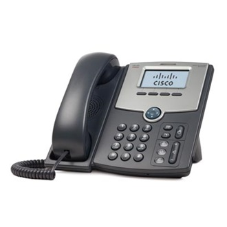 Cisco SPA502G VoIP telefon fekete