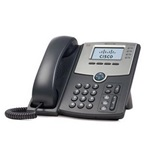 Cisco SPA504G VoIP telefon fekete