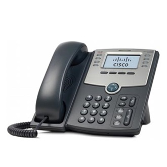 Cisco SPA508G VoIP telefon fekete