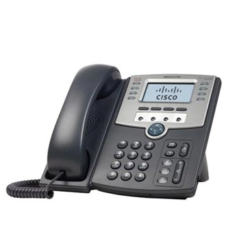 Cisco SPA501G VoIP telefon fekete