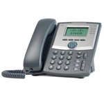 Cisco SPA303 VoIP telefon fekete