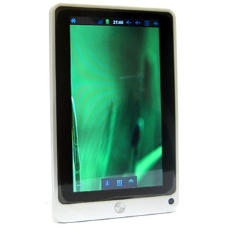 "ConCorde Tablet PC 7020 7"" LCD, 4GB, Webkamera, WiFi, Android 2.3 HU, ezüst"