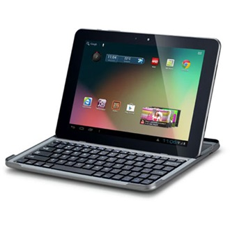"ConCorde Tablet PC  tab T10 10"" IPS , 16GB, WiFi, BT,Webkamera, Android 4.1 HU, gray"