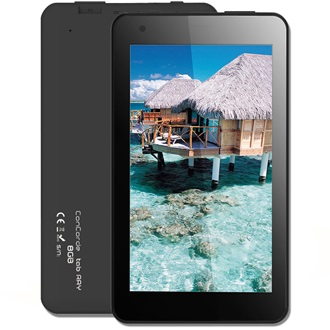 "Concorde tab Ray 7"" 8GB tablet fekete"