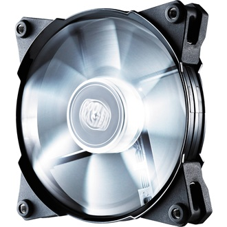 Cooler Master - Case Fan - JETFLO 12cm - LED White - R4-JFDP-20PW-R1