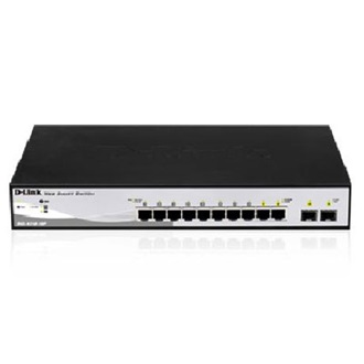 D-Link DGS-1210-10P PoE rack switch