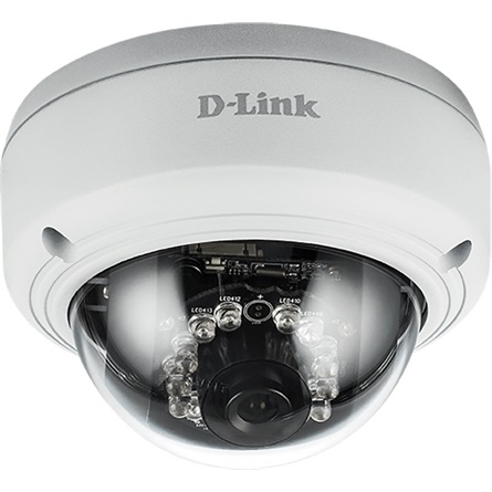 D-Link Kamera IP 2 Mpx kültéri, PoE, IP66, IK10, IR 20m