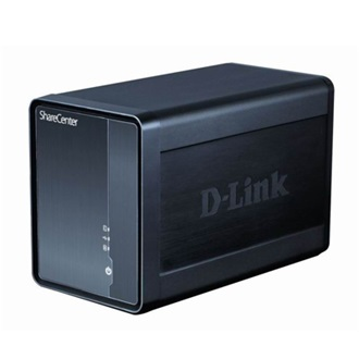 D-Link ShareCenter Shadow DNS-325 Network Storage Server - 2 TB (1 x 2 TB) - RJ-45 Net