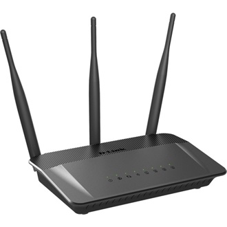 D-Link Wireless AC750 Dual Band 10/100 Router külső antennával